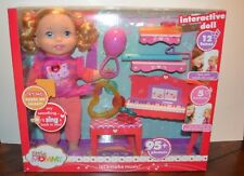 2013 LITTLE MOMMY Interactive Doll LETS MAKE MUSIC Talking Sounds NRFB NEW
