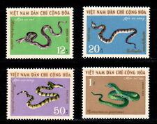 N.248- Vietnam – Venomous snakes set 4 1970