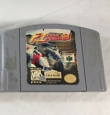 F1 Pole Position 64 Nintendo 64 * N64 * Authentic * Tested * Fast Shipping !!