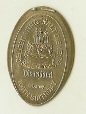 Walt Disney 100th Birthday Cake 100 Candle Dl 2001 Pressed Quarter Dl0169