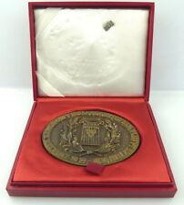Bronze Medaille mit Anstecknadel im Etui: 60 Lat Wskzuzbiekultury Polskiej e1339