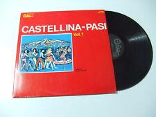 Castellina-Pasi – Vol.1 - Disco Vinile 33 Giri LP Album Stampa ITALIA 1972