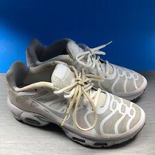Nike Air Max Plus Hyperfuse TN White Grey Reflective 483553-112 Men's Size 8