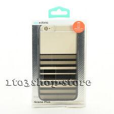 X-Doria Scene Plus TPU Case Cover for iPhone 6 Plus iPhone 6s Plus Black Stripe