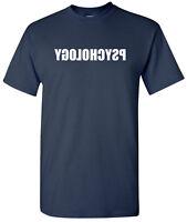 Reverse Psychology T-Shirt Psychologist Gift for Teacher Humor Funny Tee Shirt