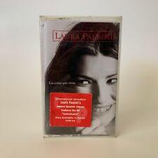 Laura Pausini Cassette Las Cosas Que Vives 1996 Brand New Factory Sealed Rare