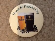 Guinness Harp Beer Pin Button St. Patricks Day