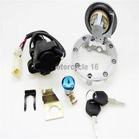 Fuel Gas Cap Ignition Switch Seat Lock Key Set For Yamaha YZF R1 R6 2000-2011 09