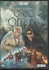 Good Omens (2019, DVD) Michael Sheen David Tennant Adria Arjona