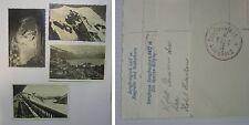 4 karten 3x jungfrajoch und hotel hirschen alle 1930
