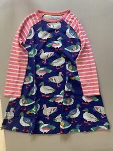 BNWOT Mini Boden Girls Duck Tunic Dress Top Age 5-6