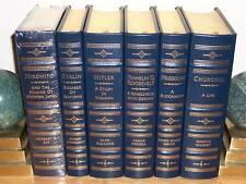 Easton Press SECOND WORLD WAR WWII LEADERS 6 vols Churchill Roosevelt Hitler
