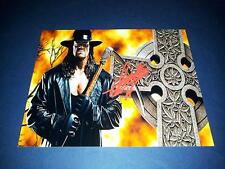 """THE UNDERTAKER PP SIGNED 10""""X8"""" PHOTO REPRO TNA WWE WRESTLING"""