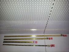 Klavierband Stangenscharnier vermessingt 32 x 0,7 x 900 mm (inkl.Schrauben)