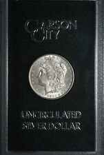 1882 CC Carson City Uncirculated GSA Silver Morgan Dollar S$1 Coin