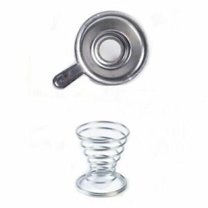 1Pc Tea Strainers + Holder Stainless Steel Infuser Filter Drinkware Accessories