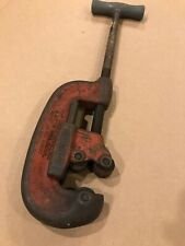 Ridgid No. 2A Heavy Duty Pipe Cutter Tool 1/8 to 2 inch