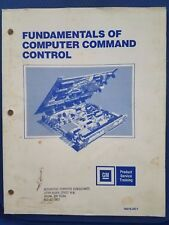 GM Product Service Training - Fundamentals Of Computer Command Control - 1983