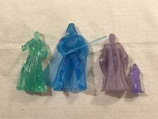 (4) Star Wars Hologram / Ghost Figures Darth Vader Palpatine Obi Wan Kenobi