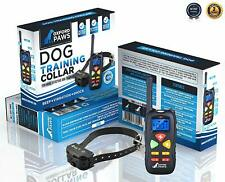 Oxford Paws 100% Waterproof Dog Training Shock Collar with Remote - 1500ft Range