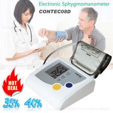 Auto Digital Arm Blood Pressure Monitor Bp Cuff Machine Color Sphygmomanometer