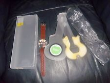 THE BEATLES FOR SALE APPLE TIMEPIECE WATCH WITH GUITAR CASE BOX AWESOME MINT!