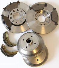 Bremsscheiben Beläge vorne Bremstrommeln Backen hinten Polo 86C 6N**
