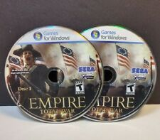 Empire: Total War (PC, 2009) - DISCS ONLY