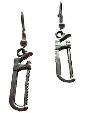 Ohrringe Ohrhänger Hänger Säge Werkzeug Handwerk Heimwerker  Stichsäge *1457*