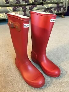 Hunter wellies/boots size 4 worn once