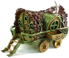 Fairy Garden Gypsy Caravan Fairy House Fiddlehead Opening Door Miniature