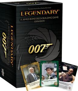 Legendary DBG: 007 - A James Bond Deck Building Game Expansion