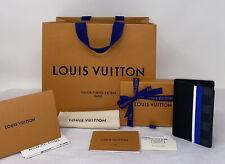 Louis Vuitton FW20 Epi Leather Damier Graphite Canvas Pocket Organizer Wallet
