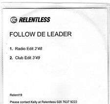 FOLLOW DE LEADER | Promotional music CD | Excellent condition | Free shipping
