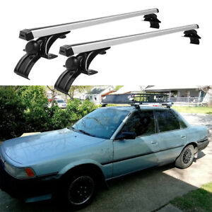 """For Toyota Camry 48"""" Car Top Roof Rack Cross Bar Luggage Cargo Carrier Aluminum"""