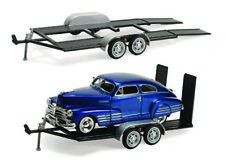 Trailer Car Carrier Motormax 76001 1/24 Scale Diecast Model Toy Car