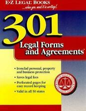 301 Legal Forms and Agreements (...When You Need It in Writing!)-ExLibrary