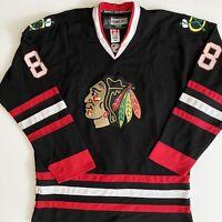 Patrick Kane 88 Chicago Blackhawks CCM Reebok NHL Hockey Jersey Sewn Size 54