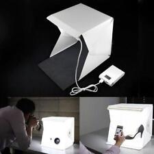LED Chambre Photo Studio Tente Photographie éclairage Toile de fond Cube Box EH