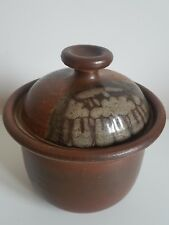 Diana Worthy Crich Studio Pottery Lidded Casserole / Storage Pot