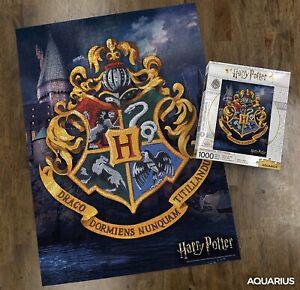 Puzzle Harry Potter Hogwarts Logo 1000 piece New & Sealed - Fast Dispatch