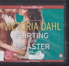 FLIRTING WITH DISASTER by VICTORIA DAHL~UNABRIDGED CD AUDIOBOOK