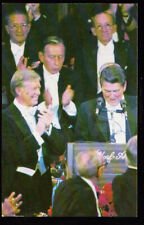 PEOPLE Governor Ronald Reagan President Jimmy Carter 1980 Postcard PC
