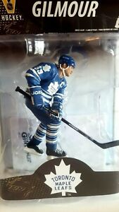 DOUG GILMOUR 93 NHL Legends, Vintage Hockey BNIB Collector Figure with ICE Base