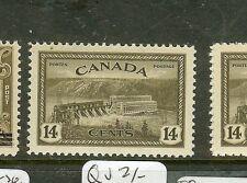 CANADA  (P0208B)  14C PEACE ,M HYDRO,  DAM SG403  MNH
