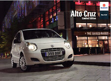 Suzuki Alto Cruz 1.0 Limited Edition 2010 UK Market Sales Brochure