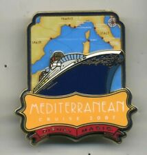 Disney 2007 DCL Cruise Magic Mediteranean Ship Map Completer Pin
