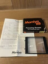 *Mint in Box* Mamiya RB67 Focusing Screen No.3 Rangefinder Spot Split Image /JPN