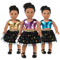 Clothes Skirt Dress Suit For 18 Inch American Boys Doll Accessory Girls Toys