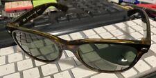 Ray Ban New Wayfarer RB2132 902/58 Tortoise Polarized Sunglasses 55mm Used